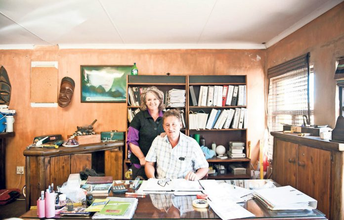 Out of pocket: Karin and Thys Kruger housed students at their guesthouse