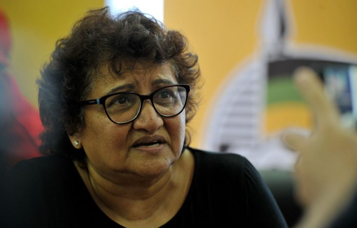 ANC deputy secretary general Jessie Duarte told the march that the ruling party would not apologise for its position towards the Israeli government.