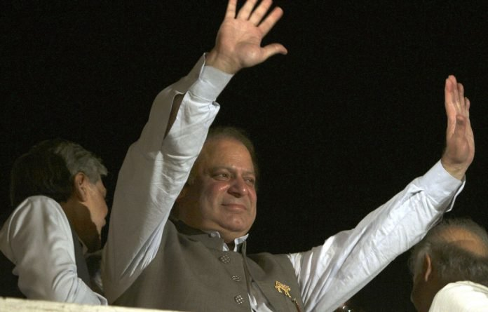 A file photograph of Pakistan's Prime Minister Nawaz Sharif from May 11.