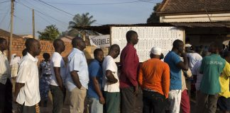 Guineans hope the poll will mark the end of a long period of political crisis in the West African country.