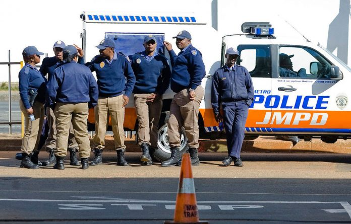 Ekurhuleni Metro police found themselves locked out of their OR tambo office after their rent had not paid for over a year.