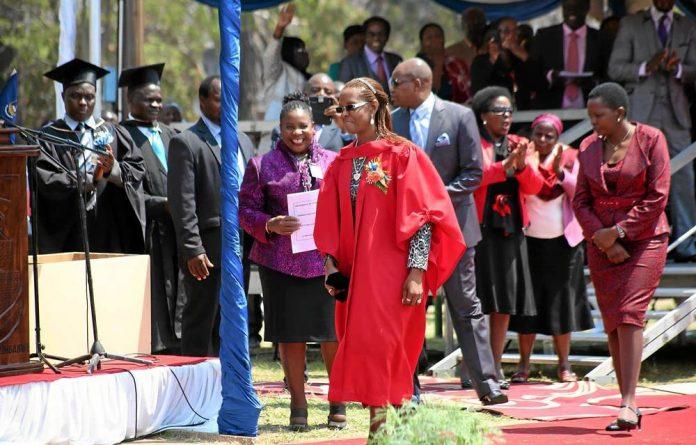 Grace Mugabe's PhD