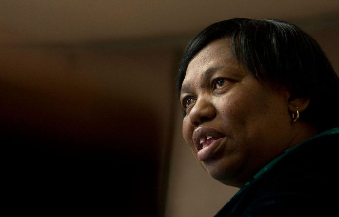 Angie Motshekga was 'right to say there was little she could do to avert the textbook crisis'.