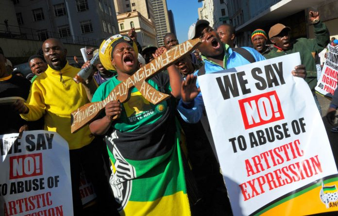 The ANC's dismay over the controversial