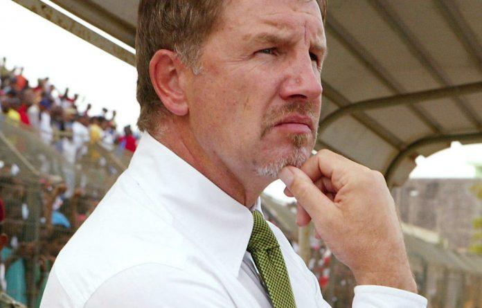 Kaizer Chiefs' coach Stuart Baxter.