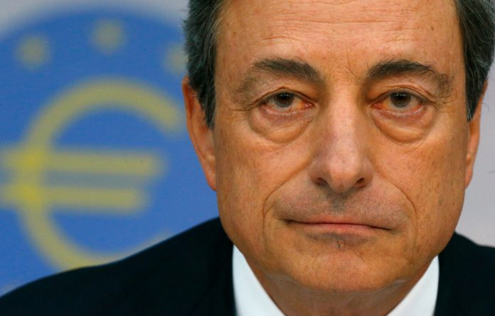 Mario Draghi says liquidity support to Greece is €118-billion