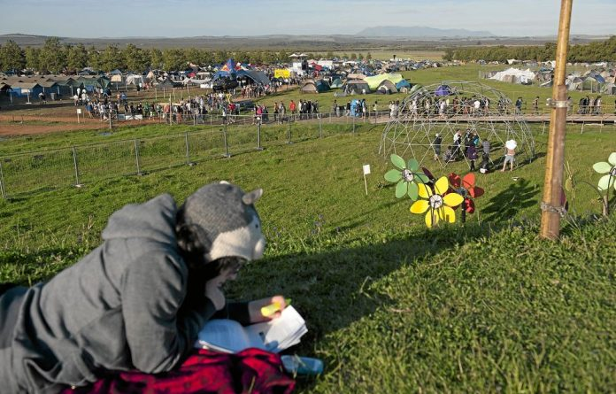 Message in the music: Organisers of Rocking the Daisies do their best to make the festival as ecofriendly as possible — and to get this message across to the revellers.