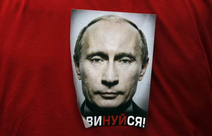 """""""So what if Putin is corrupt? There are two types of rulers: good corrupt rulers and bad corrupt rulers."""