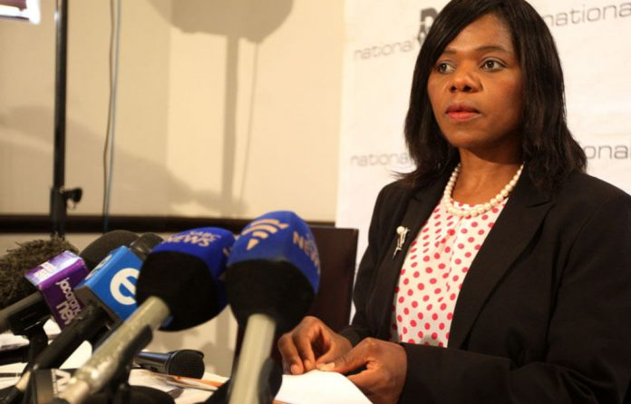 Thuli Madonsela has reiterated that the letter Jacob Zuma sent to Parliament last week made plain that he was refraining from comment on her report.