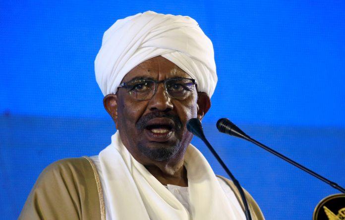 Sudan's President Omar al-Bashir.