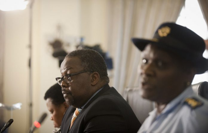 Constitutional Court states that Police Minister Nathi Nhleko does not have the power to suspend the national head of the Hawks in the manner in which he has purported to do.