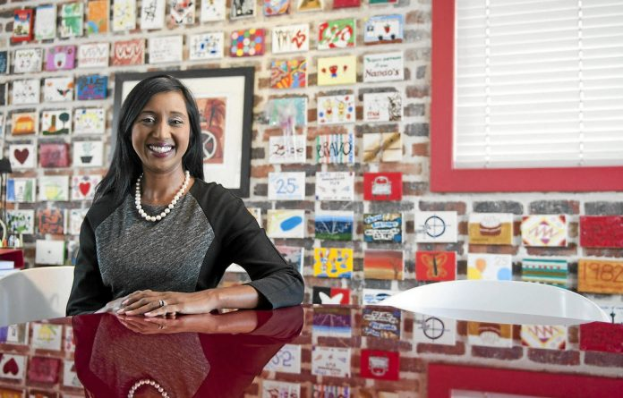 Koo Govender: Candidates are assessed by their 'passion for giving back to women'.