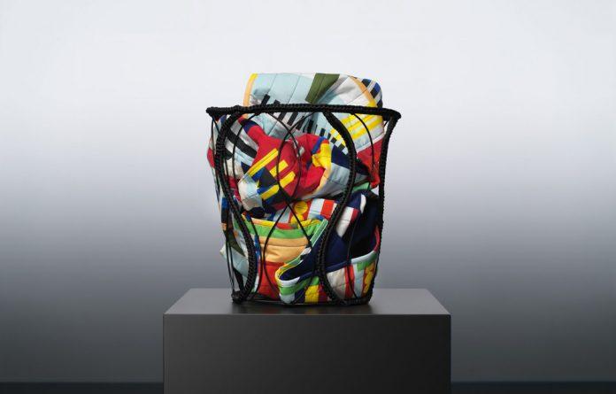 Raby Kane's IKEA basket draws inspiration from hair braiding. Photos: IKEA