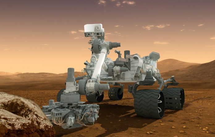 Nasa's Curiosity rover will seek out signs that Mars once harboured life.