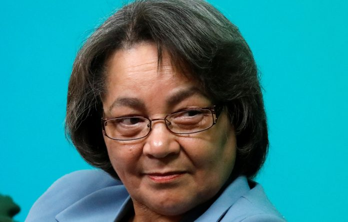 Former Cape Town mayor and DA member Patricia de Lille.