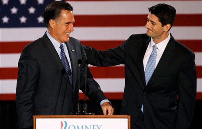 Republican vice-presidential hopeful Paul Ryan.