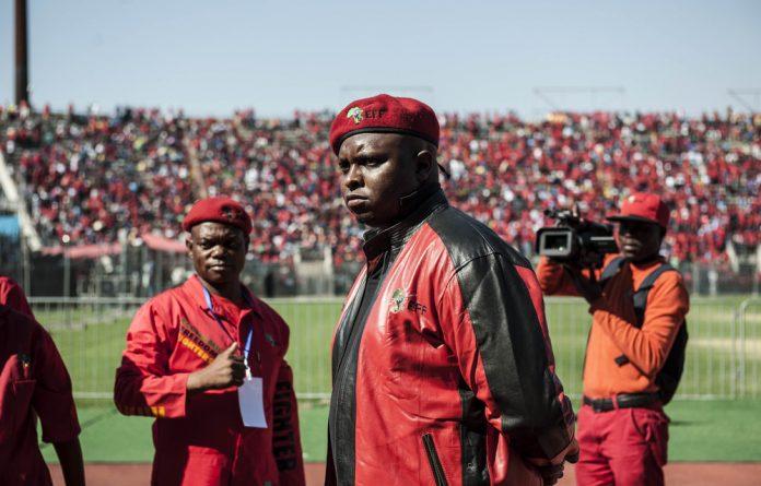 EFF deputy president Floyd Shivambu.