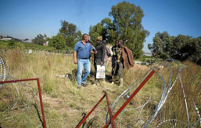 Kleinfontein holding.