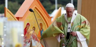 The pontiff went to Ireland to close the 2018 World Meeting of Families — a global Catholic gathering that addressed issues including the treatment of gay people in the Church.