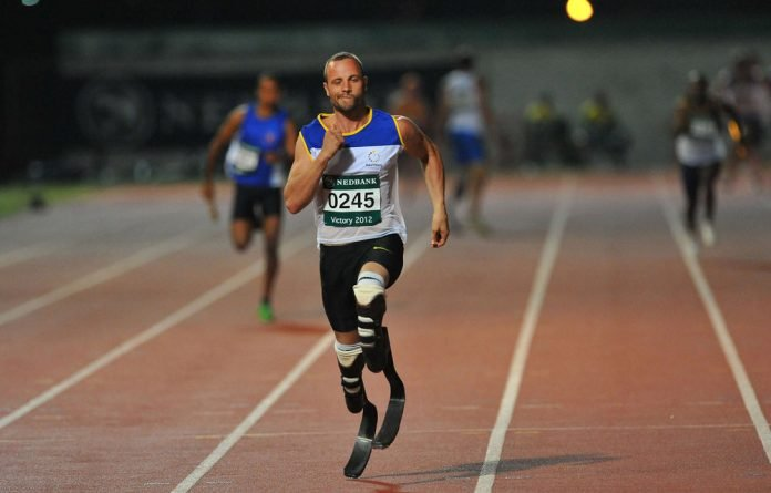 Oscar Pistorius hopes his participation in the able-bodied Olympics will raise the profile of the Paralympic Games in London in August.