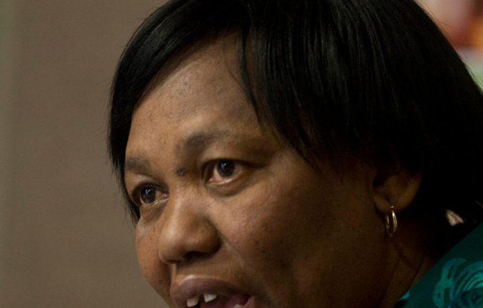 Basic Education Minister Angie Motshekga.