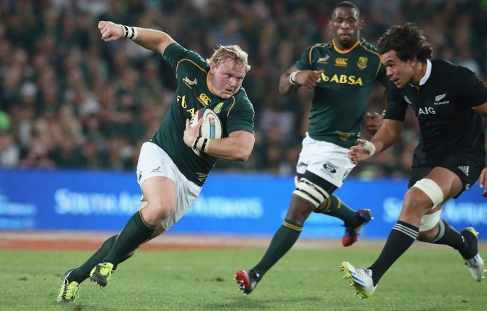 On the move: Adriaan Strauss