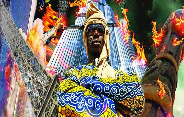 Pheno S with the first Malian hip-hop album.
