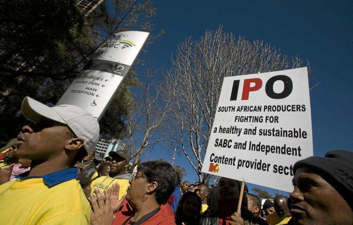 Under apartheid
