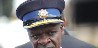 National police commissioner Lieutenant General Khehla Sitole.