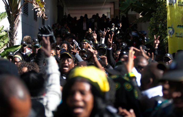 The ANC has accepted an altered version of the