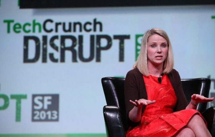 Yahoo chief Marissa Mayer.