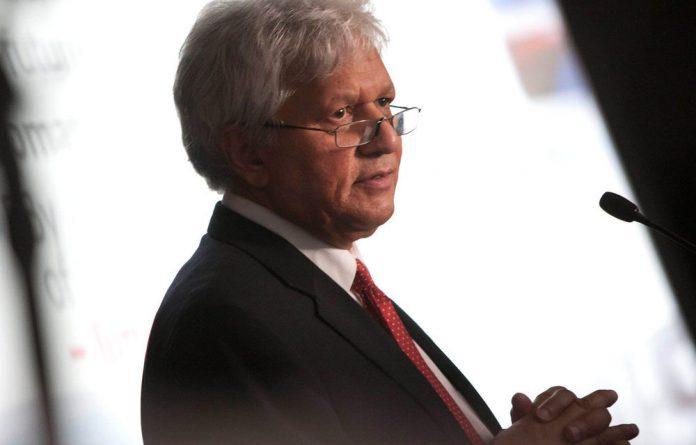 Former Sanral chief executive Nazir Alli.