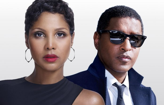 "International R&B stars Toni Braxton and Kenny ""Babyface"" Edmonds."