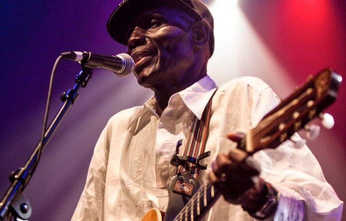 Everyone's singer: Oliver Mtukudzi's voice was one that marked many of Zimbabwe's highs and lows over the years. Photo: Marc Broussely/Redferns
