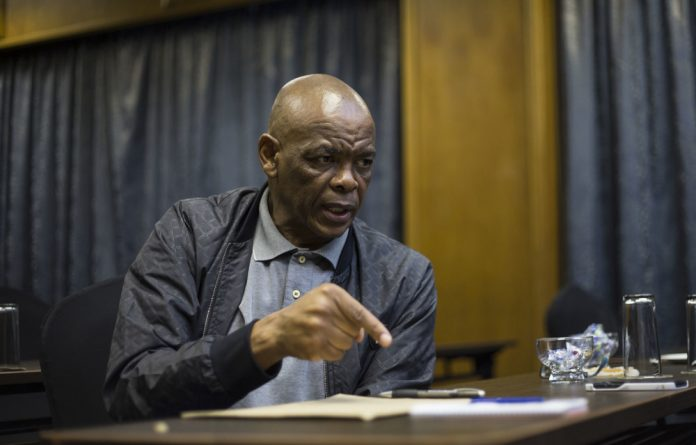Ace Magashule made the allegation public at the funeral of Msibi