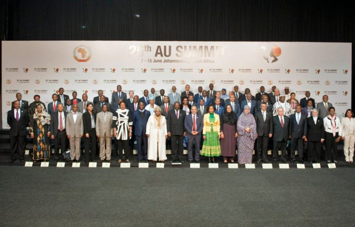The AU's 25th summit in Johannesburg was expected to address xenophobia and other matters seen to be threatening peace and stability on the continent.
