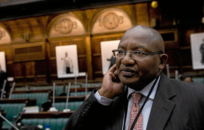 The former head of the National Prosecuting Authority