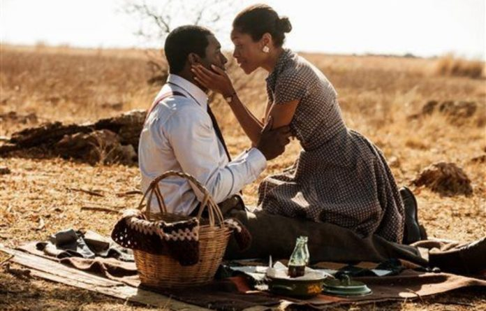 Idris Elba and Naomie Harris play lead roles in the film based on Nelson Mandela's book 'Long Walk to Freedom'.