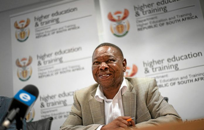 Central command: Blade Nzimande.