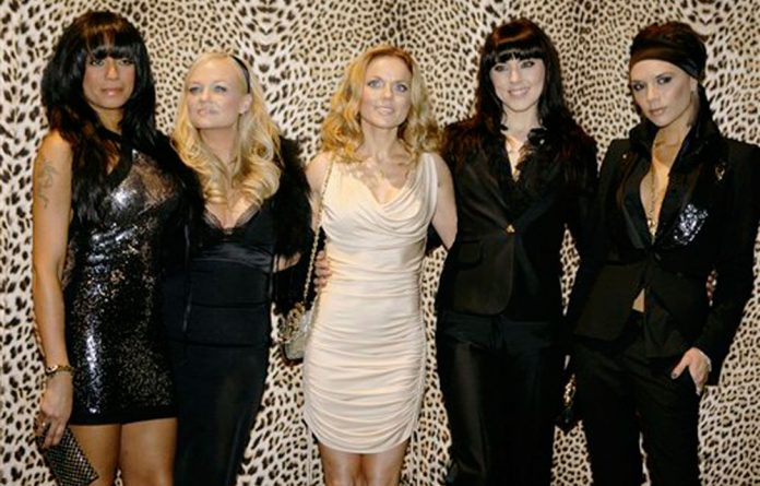 A 2008 file photo of the Spice Girls