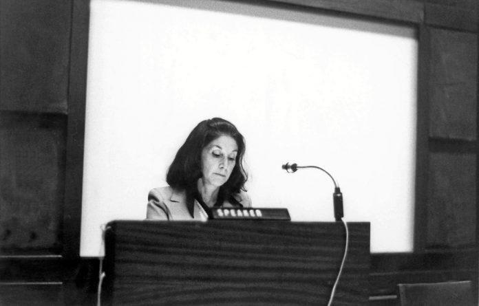 Nadine Gordimer in 1974.