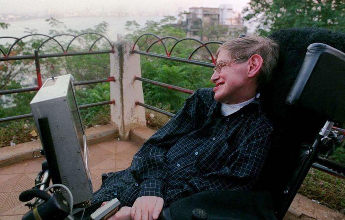 World-renowned physicist Stephen Hawking.