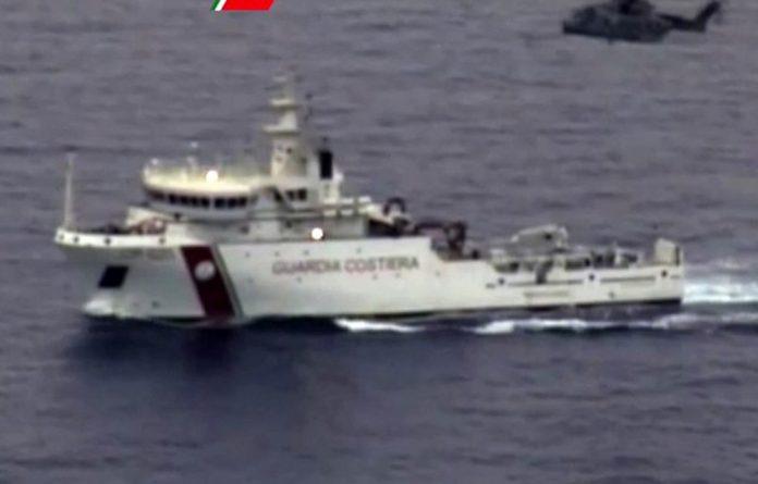 Rescue boat.