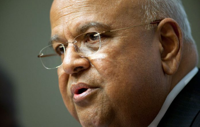 Finance Minister Pravin Gordhan celebrated the achievements of the past 20 years