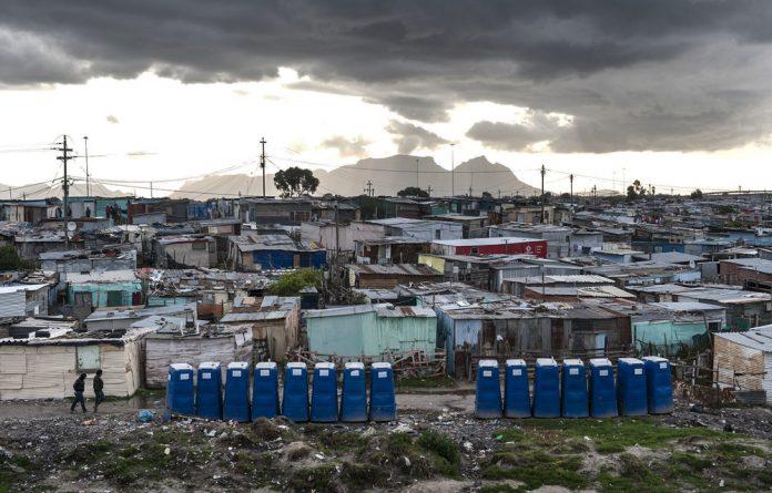 Residents of Site C in Khayelitsha