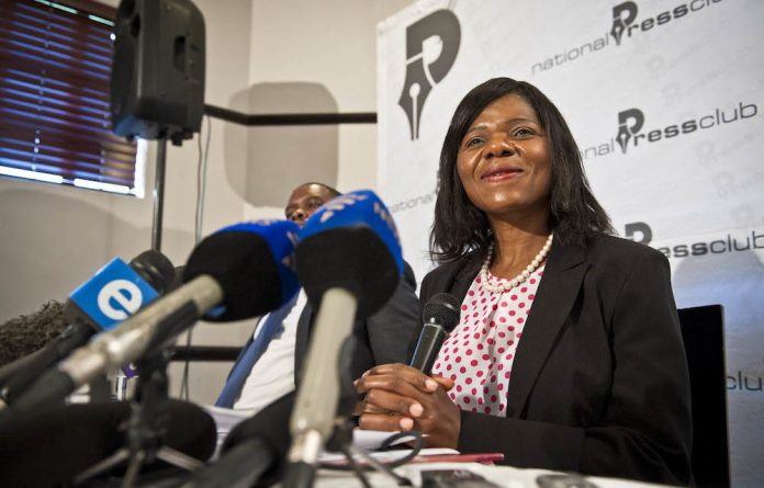 Standing firm: Thuli Madonsela says she will not accede to suggestions to 'let sleeping dogs lie' and wants a higher court to rule on the Nkandla matter.