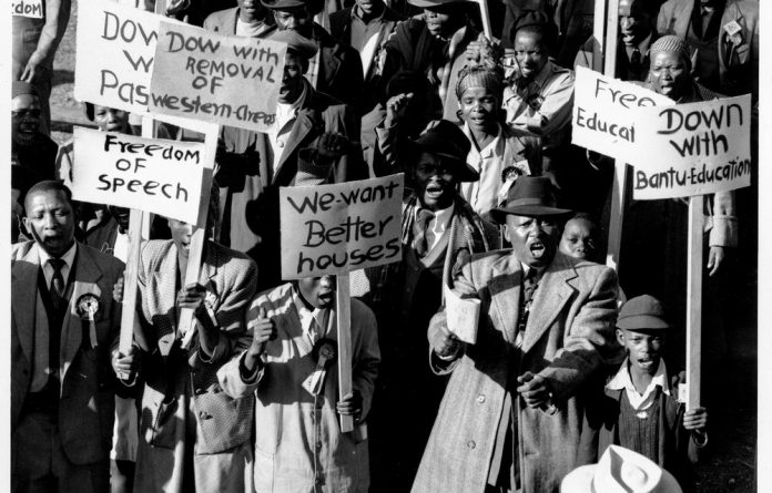The Congress of the People in 1955 demanded that black people be given rights. Over the years