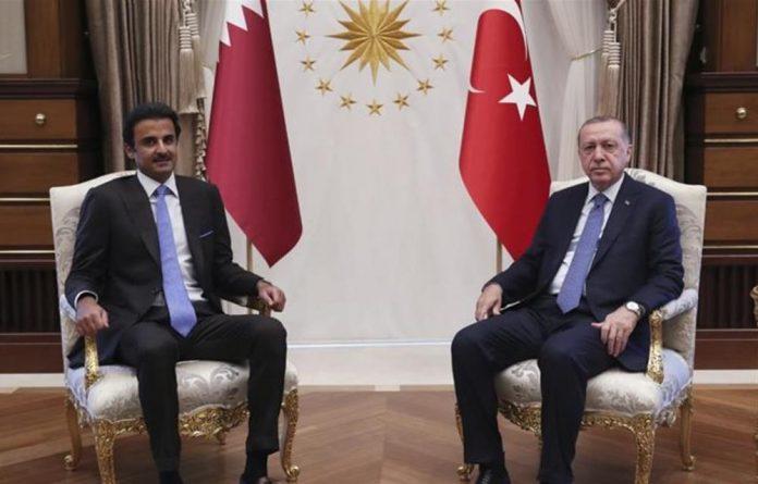 The Turkish and Qatari leaders met in Ankara on Wednesday