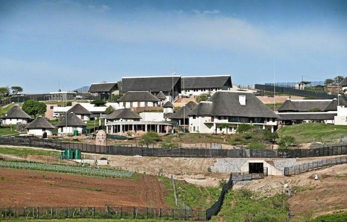 President Jacob Zuma's home in Nkandla.