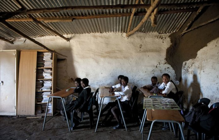 Doomed: Matriculants in rural schools have been compromised on every level from access to technology to the competence of teachers.